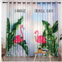 green plant curtains Luxury Blackout 3D Window Curtains For Living Room Bedroom Customized size 3d curtains morden bookself 3d curtains luxury blackout curtain 3d window curtains for living room bedroom customized size