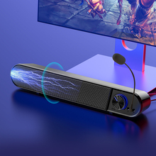 Computer Sound bar Wired Bluetooth Speakers Subwoofer With Microphone and Earphone jack Bass Surround TV Home Theater Soundbar