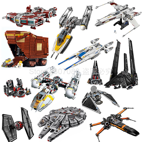 05085 Star Wars Movie Jedi Defender-Class Cruiser Jedi Style Building Block Bricks Toys Gift For The Children Star Wars 75025
