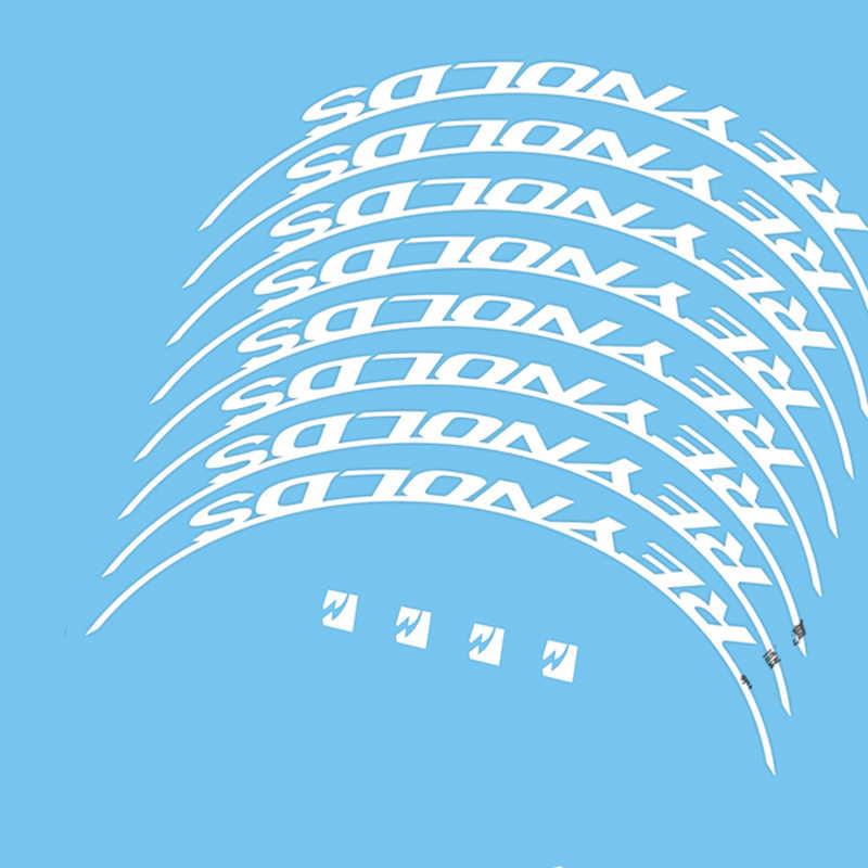 Autocollants de vélo pour vélo 46 jantes vélo de route décalcomanies de roues en carbone 46mm à 50mm décalcomanies autocollant de jeu de roues en carbone