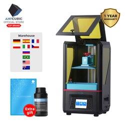 ANYCUBIC Фотон SLA 3d принтер Плюс размер UV lcd собран 2 K экран Off-Line печать Impresora 3d Drucker Impressora UV смола