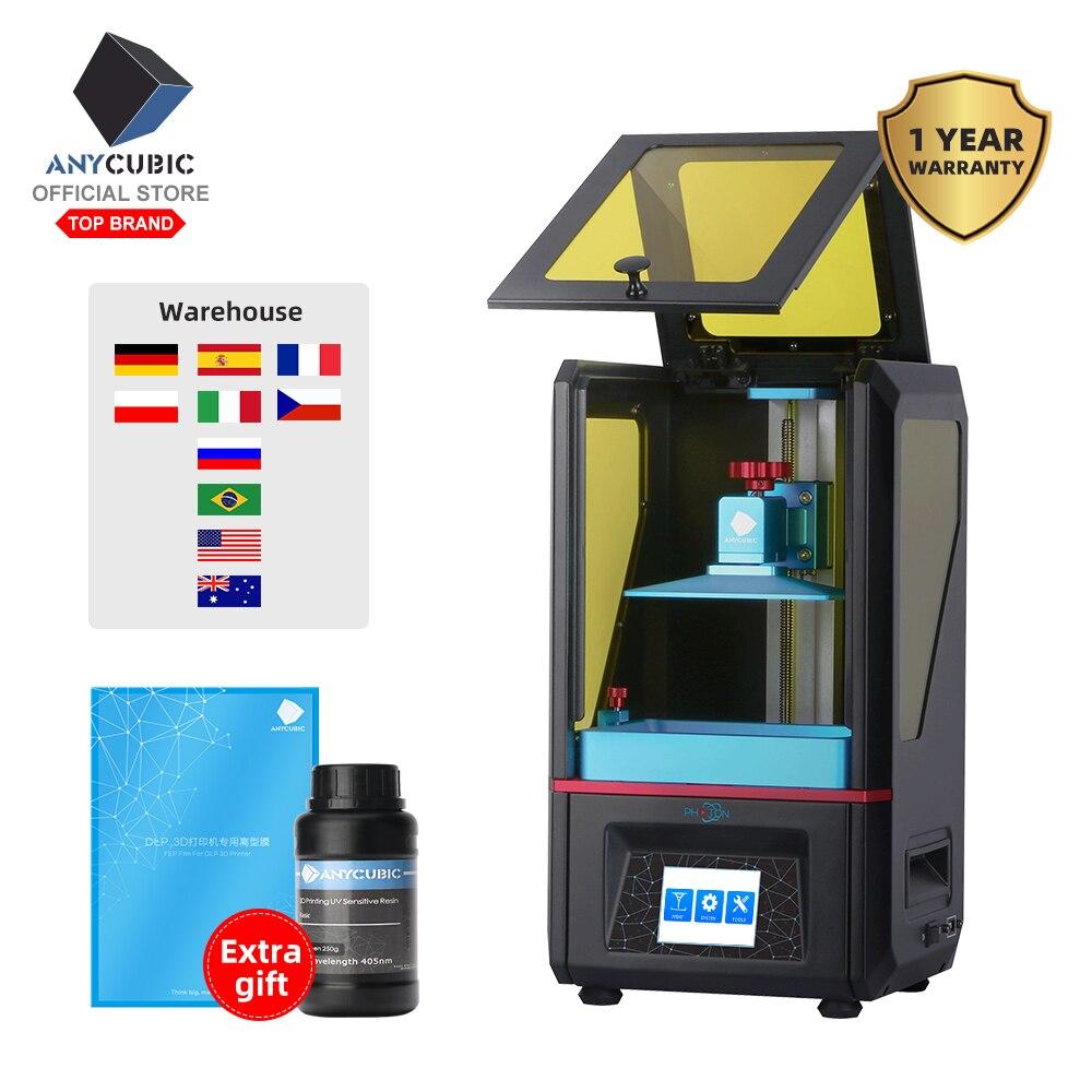 ANYCUBIC Photon SLA 3D Printer Plus Size UV LCD Gemonteerd 2 K Scherm Off Line Print Impresora 3d Drucker impressora UV Hars-in 3D Printers van Computer & Kantoor op AliExpress - 11.11_Dubbel 11Vrijgezellendag 1