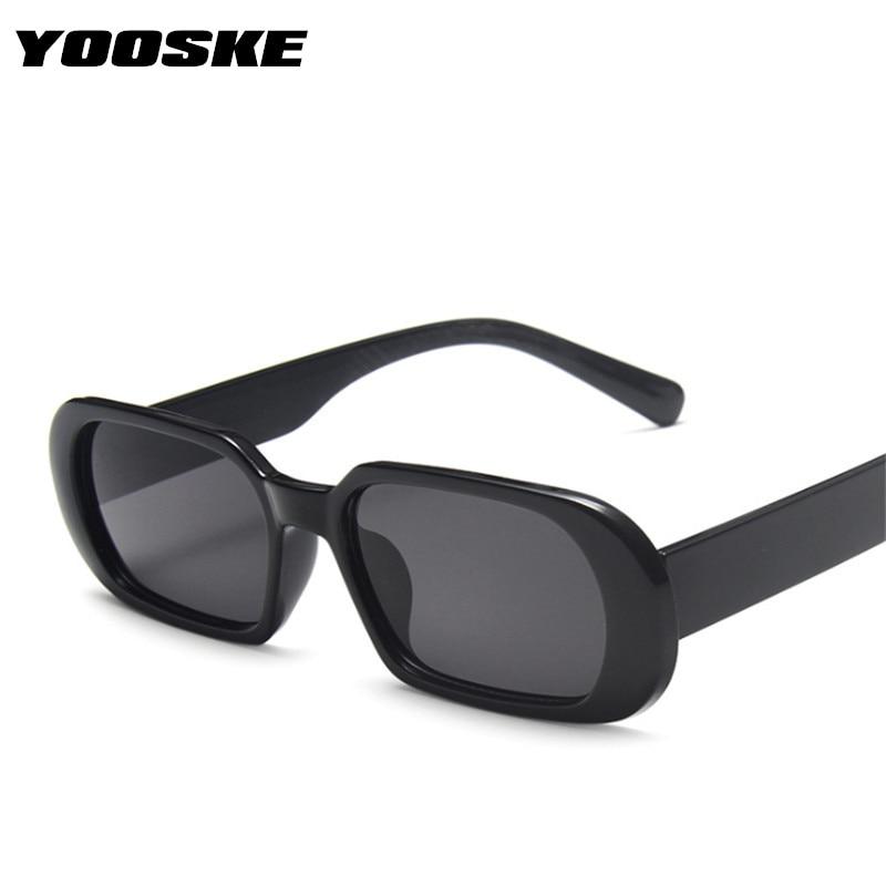 YOOSKE marca occhiali da sole piccoli donna moda occhiali da sole ovali uomo Vintage verde rosso occhiali da donna occhiali da viaggio stile UV400 2