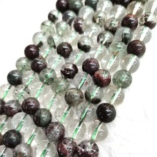 Chorite  crystals nature stone Green ghost super seven loose beads for jewelry DIY bracelet necklace  making cerrone cerrone super nature