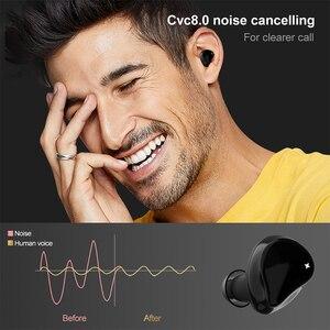 Image 4 - ใหม่ APTX หูฟังไร้สาย True TWS Bluetooth 5.0ชุดหูฟัง CVC 8.0การตัดเสียงรบกวน HD หูฟังพร้อมไมโครโฟน QCC3020