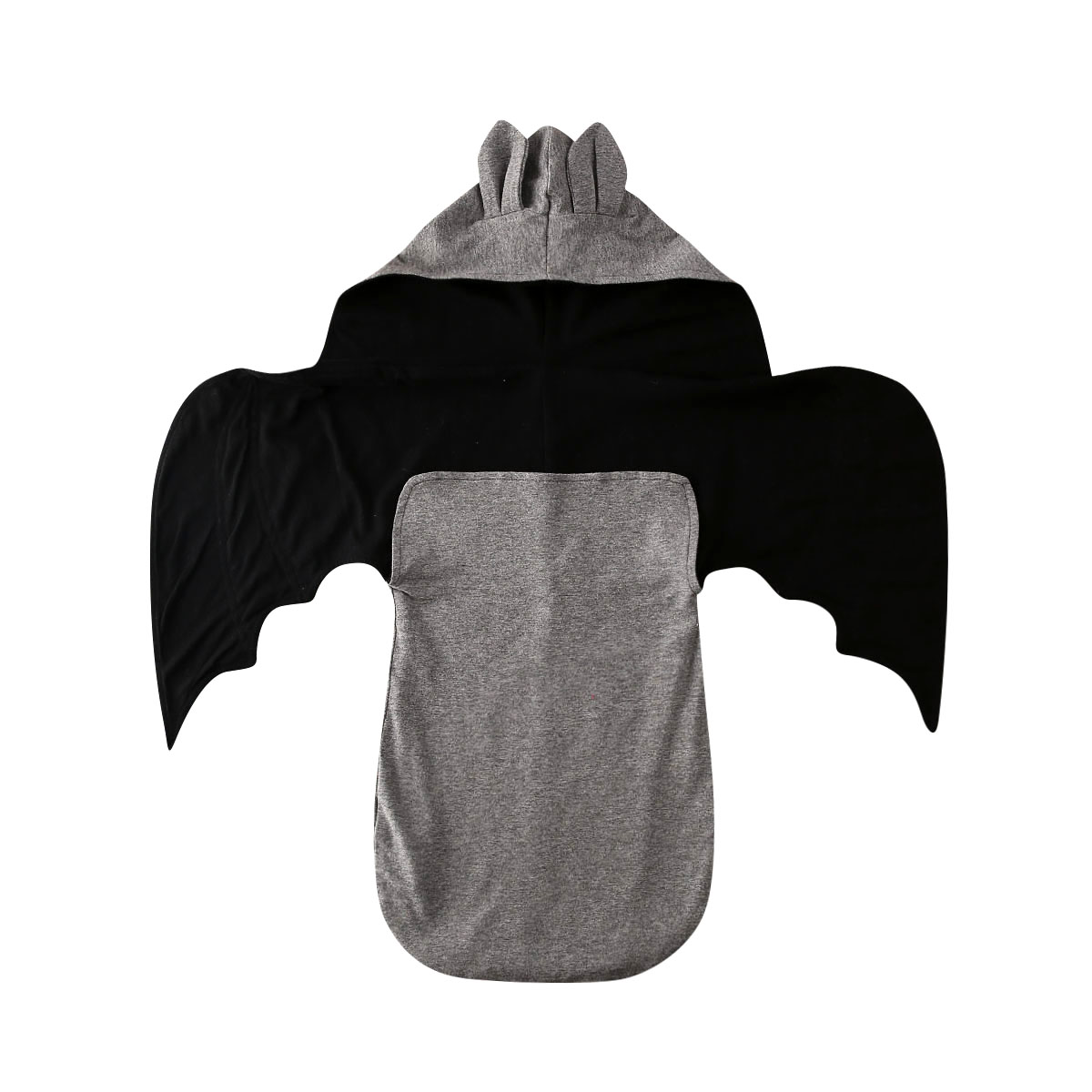 Baby Bedding Infant Baby Kid Bat Shape Cotton Swaddle Blanket Wrap Wings Hooded Sleeping Bag 0-6M