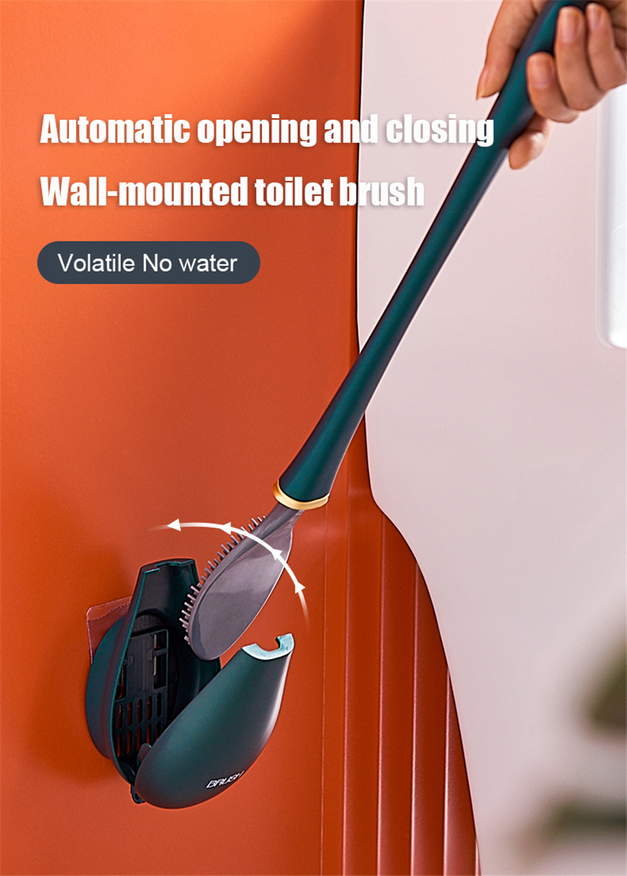 Deep Clean Silicone Toilet Brush