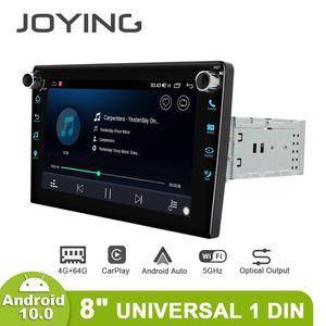 Image 5 - Joyingアンドロイド10.0ヘッドユニットカー8インチips 1280*720 4ギガバイト + 64ギガバイト車ラジオプレーヤーgpsナビゲーションステレオrds dspサポート4グラム & carplay & bt