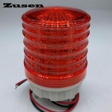 Zusen TB5051 220v üç renk sinyal lambası uyarı ışığı LED küçük yanıp sönen ışık