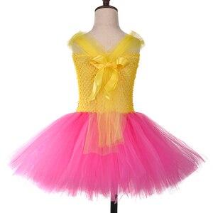 Image 4 - Princesa meninas lol tutu vestido com bandana bonito menina vestidos de festa aniversário crianças carnaval dia das bruxas lol bonecas cosplay traje