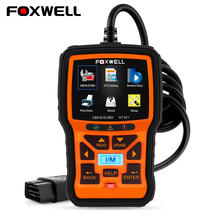 Car-Diagnostic-Tool Obd2-Scanner Clear Read ODB Foxwell Nt301 Professional Auto Code