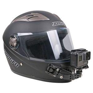 Image 5 - Sport Camera Accessoires Helm Kin Beugel Voor Gopro Hero 8 7 6 5 Sjcam Bike Motorhelm Chin Mount accessoires