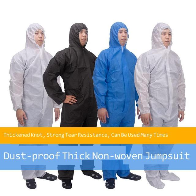 Disposable Protective Suit Ppe Suit Chemical Protection Work Clothes Protective Clothing Special Clothes Coverall 2