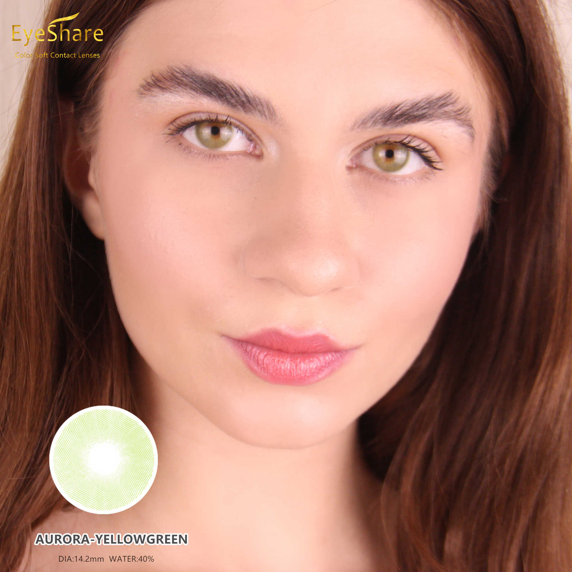 EYESHARE 1 para Aurora Europe kolorowe szkła kontaktowe roczne zastosowanie kosmetyczne soczewki kontaktowe kolor oczu