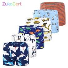 Culottes en coton organique pour garçons, sous vêtements pour enfants de 2 à 10 ans, culottes en coton doux, sous vêtements pour adolescents