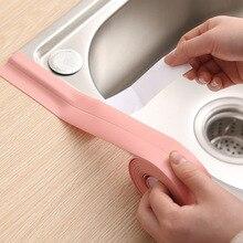Wallpaper Waterproof Self-Adhesive Floor PVC Bathroom Kitchen Sealing-Tape DIY