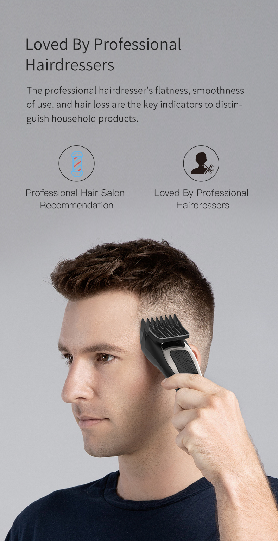 Youpin enchen máquina de cortar cabelo elétrica