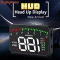 BigBigRoad автомобиля Hud Дисплей для BYD F3 F0 F3R S6 L3 G3 G5 G6 M6 S6 S7 e1 e2 e5 e6 S2 превышение скорости Предупреждение лобовое стекло проектор Авто