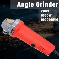 Metal 220V 1000W 10000 obr/min mała szlifierka kątowa szlifierka polerska do cięcia do cięcia narzędzie Anti Slip potężny ochrony w Młynki od Narzędzia na