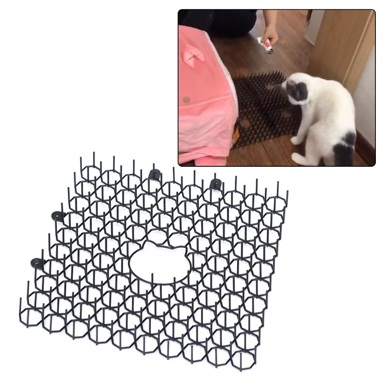 Anti-cat Thorn Pad Drive Cat Artifact Prevent Rig Car Messy Balcony Garden Cats Restricted Area Mat Cat Supplies C42