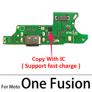 Image 5 - Original New USB Charging Port Connector Board With Mic Microphone For Moto One Vision Fusion Action Marco Hyper Power G30