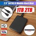 Внешний жесткий диск USB3.0 HDD HD, жесткий диск 1 ТБ/телефон, мобильный жесткий диск, устройства для хранения жесткого диска для компьютера Mac, нас...