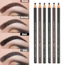 5 cor puxar linha lápis de sobrancelha dwaterproof água lápis longo não-derramamento sobrancelha não-marcação ferramentas maquiagem duradoura cor r8e6