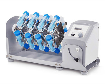 Rotator LCD Digital Long Axis Rotary Mixer MX-RL-Pro Including 50 ml Disk Accessory Adjustable Mixing Angle & Speed 10-70 rpm