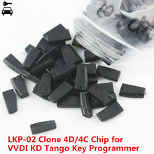 10 pz/lotto LKP 02 4C 4D G LKP 03 ID46 7936 Clone Chip per KEYDIY KD X2 KD VVDI Tango programmatore chiave CN1 CN2 copia Transponder