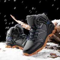 Winter Boots Men Non slip Mens Casual Shoes Warm Botas Hombre Male Zapatos De Hombre Plus 46 Outdoor Safety Shoes Bota Masculina