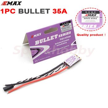 1PC EMAX New Bullet series 35A 3-6S ESC Support DSHOT BLHELI-S Speed Controller High Voltage for RC Multicopter Quadcopter FPV