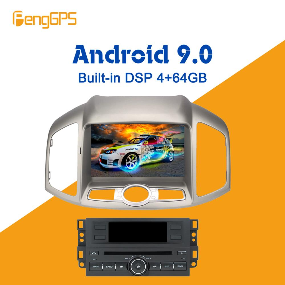 <font><b>Android</b></font> 9.0 4+ 64GB px5 Built in DSP Car DVD Player Multimedia Radio For CHEVROLET CAPTIVA 2012+ GPS Navigation Headunit