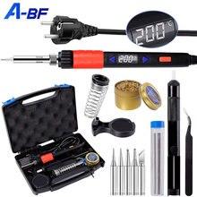 A bf цифровой электрический паяльник светодиодный набор 110