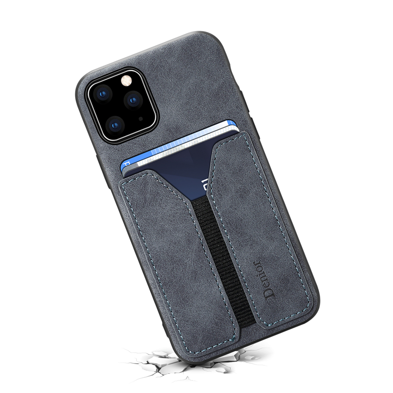 Deluxe Leather Card Holder Case for iPhone 11/11 Pro/11 Pro Max 11