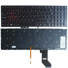 Novo para lenovo ideapad y700 Y700-15ISK Y700-17ISK retroiluminado teclado do portátil reino unido sem moldura