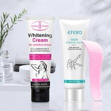 Woman Hair Removal Cream Beauty Body Creams Armpit Whitening Cream
