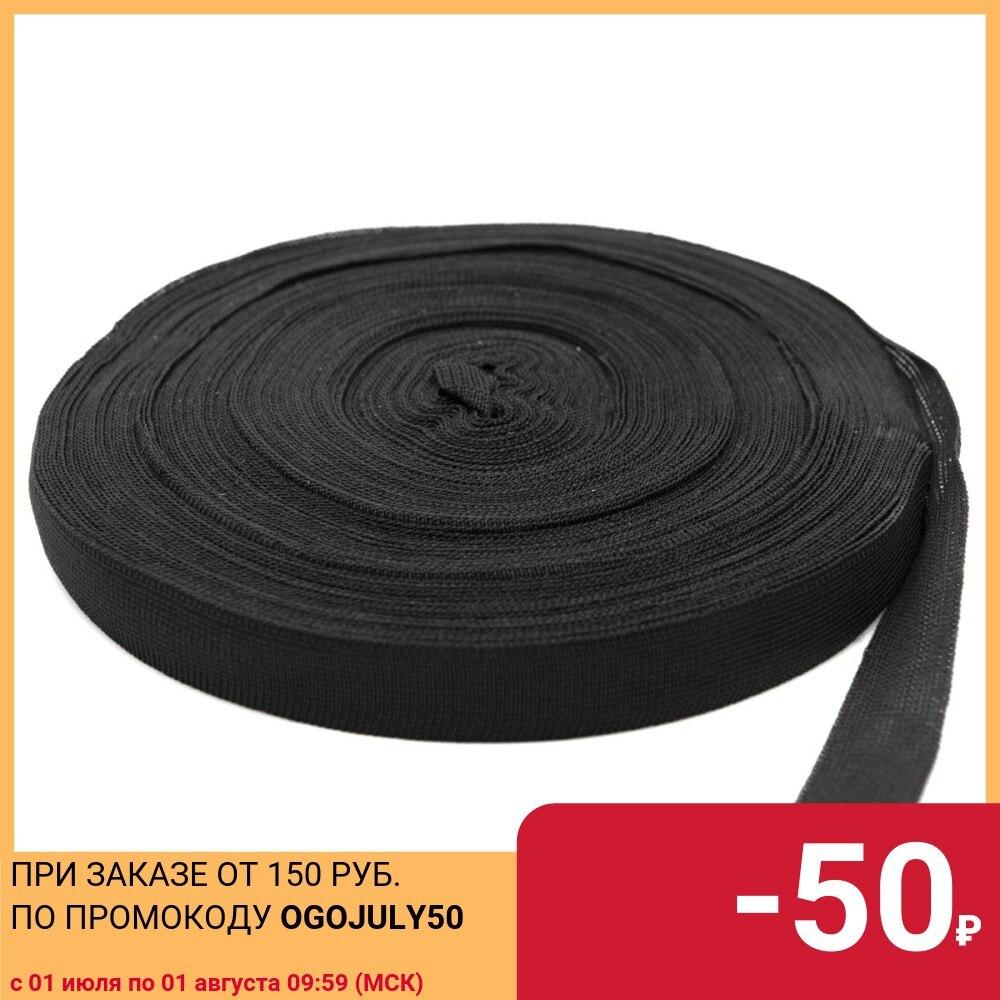 60351 braid edging 24mm * 30 m Black (3.55gr/m), 30 m
