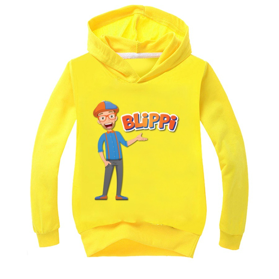 fall clothes for toddler girls children's wear fashion hooded costumes for kids shirts BLiPPi 10 to 12 teenage boys graphic tee 6
