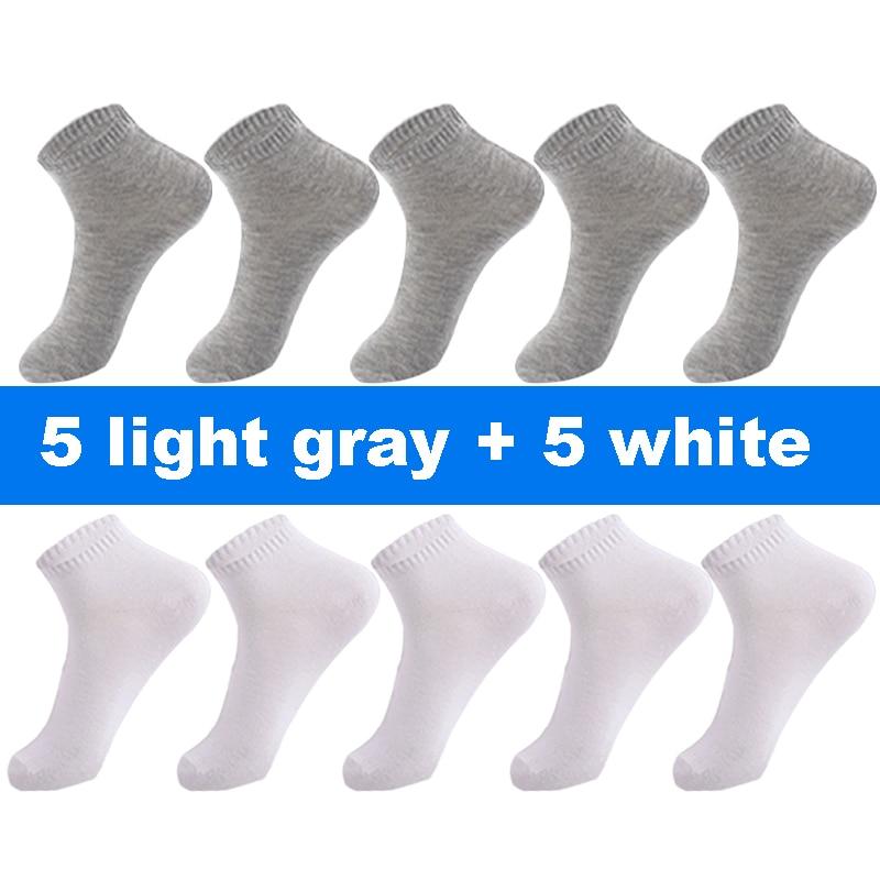 5 white 5 gray