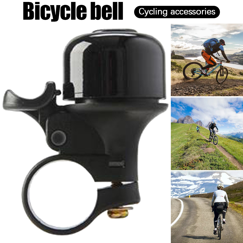 Bike Bell Aluminum Safety Horn Alarm For 22mm Thicken Handlebar Bicycle Warning Bell For MTB Road Child Bike Ring Accessories