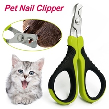 Pet Nail Clipper Pet Grooming Scissors Small Stainless-Steel Nail Clipper Animal Nail Scissor Nail Cutter for Small Pet Dog Cat stainless steel nail clipper silver