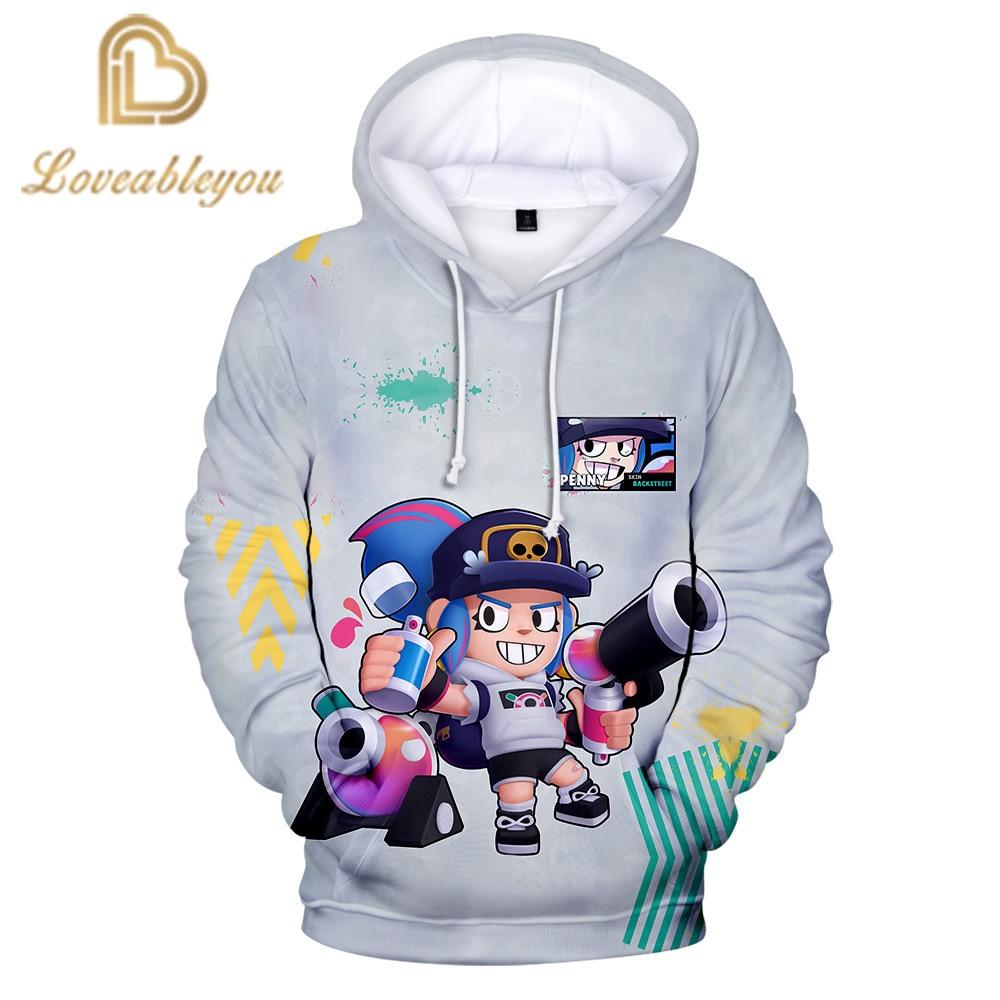 3 To 14 Years Children Hoodies Shooting Game 3d Printed Hoodie Sweatshirt Boys Girls Spring Autumn Jacket Coat Children Clothing