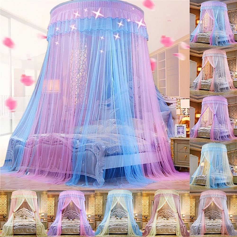 Dôme de maison princesse lit rideau auvent chambre d'enfants moustiquaire moustiquaire