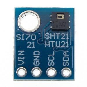 Image 3 - GY 21 HTU21D IIC/I2C الرقمية درجة الحرارة والرطوبة الاستشعار لوحة القطع وحدة لمحطات الطقس هوميدور التحكم 3.3 فولت