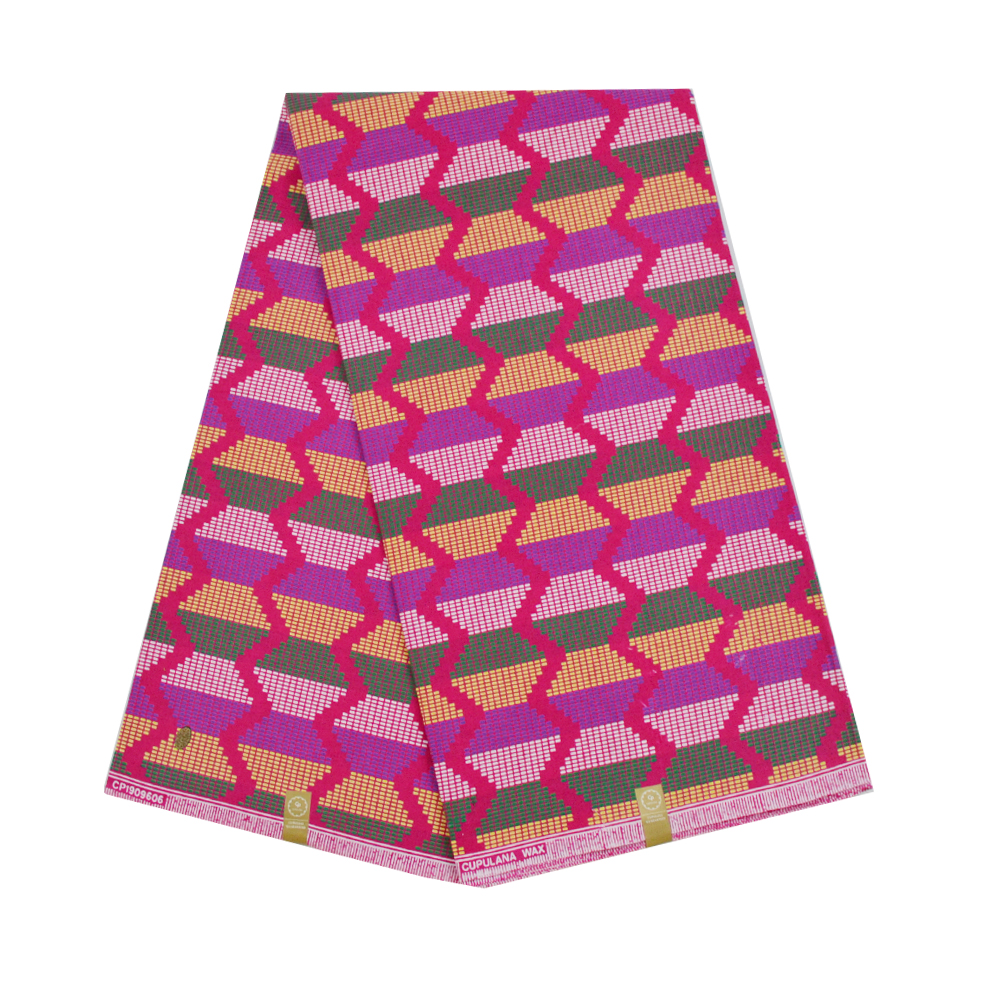 2019 Latest Cotton Nigerian Chitenge Ankara Fabric Ghana Kente Wax African Kitenge Print Fabric For Cloth 6 Yards