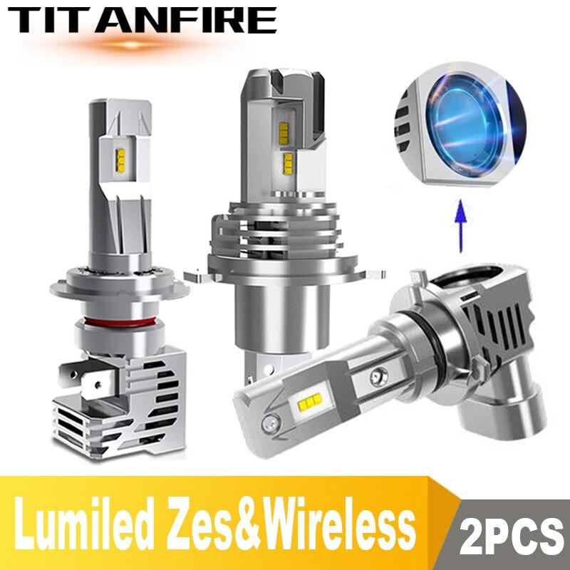 TF30 Новые поступления LED H7 H4 H11 H8 HB4 H1 HB3 автомобильные лампы для фар машины беспроводной 110 Вт/пара 6000 лм автомобиль светодиодный K светодиодный...