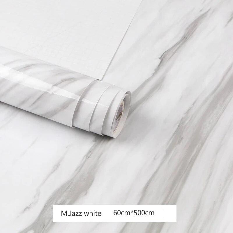 Funlife — autocollants muraux imitation marbre et vinyle, décoration d