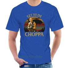 Brand Arnold Schwarzenegger Predator Get To Da Choppa T-SHIRT 2020 Men Short Sleeve T-Shirt @071508