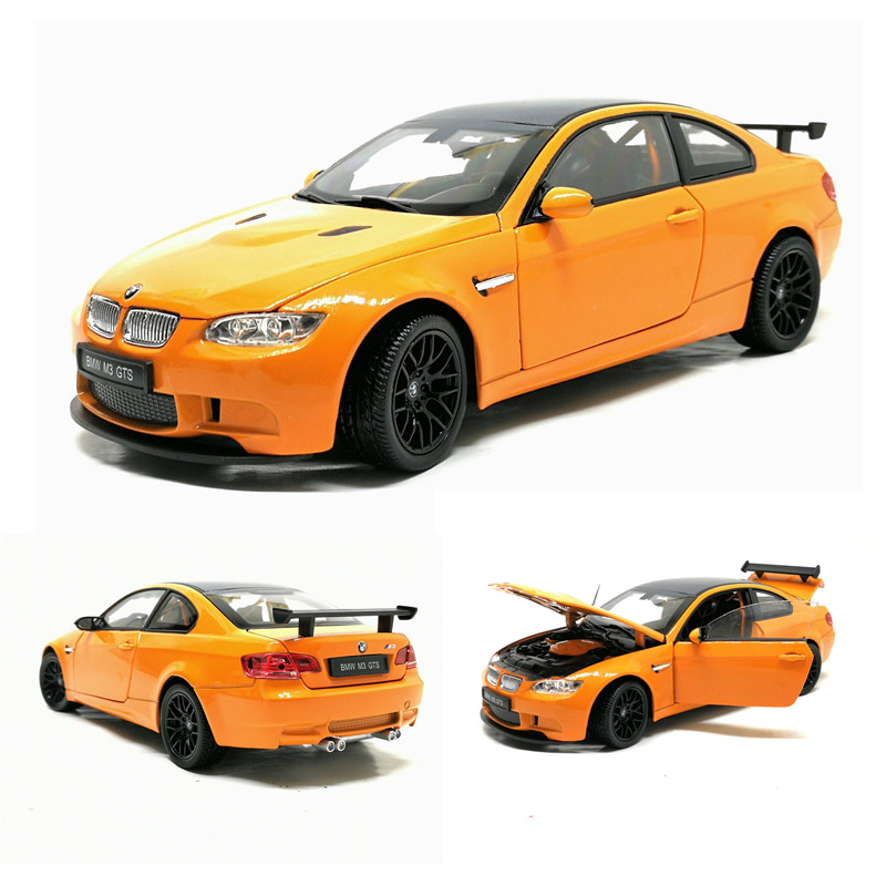 1:24 High Simulation BMW M3 Alloy Car Model Boy Gift 4 Open Door Sports Car Model Toy For Kid Gifts