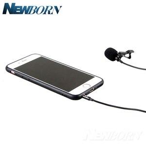 Image 3 - Microfone de áudio e gravação de vídeo para celular, condensador, lavalier, para iphone 8, 7, 6, 5, YC LM10, ipad, huawei, samsung, xiaomi, 4S tipo c